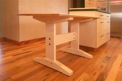 handmade custom kitchen table by black sons furniture
