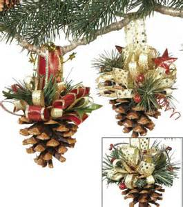 Pine Cone Ornaments craftdrawer crafts pine cone ornaments for christmas