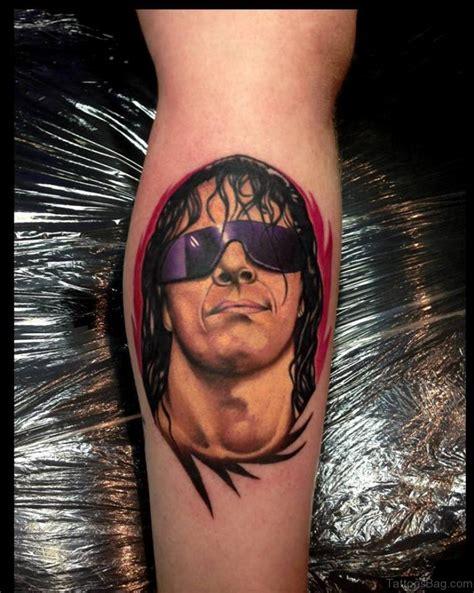 hart tattoo 50 best portrait tattoos on leg