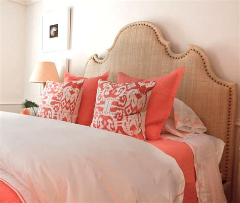 coral and brown bedroom bedroom bedroom featuring coral and sand tones brown