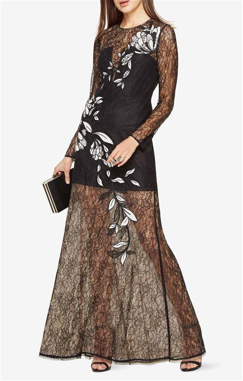 Floral Applique by Veira Floral Applique Lace Gown