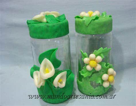 decoracion de frascos de vidrio con porcelana fria todo en porcelana fria adornos regalos souvenirs