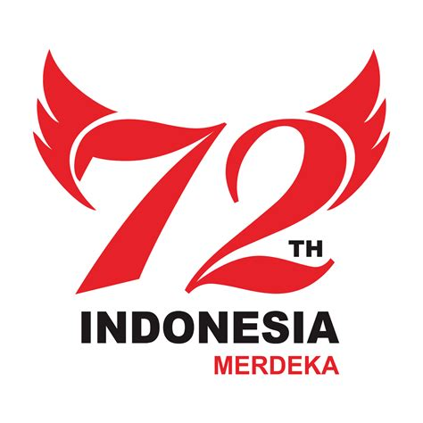 Kaos Hut Indonesia Raya 72 Tahun logo hut ri ke 72 tahun dodo grafis situsnya belajar desain