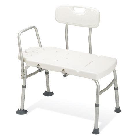 padded shower transfer bench guardian non padded transfer bench healthcare supply pros