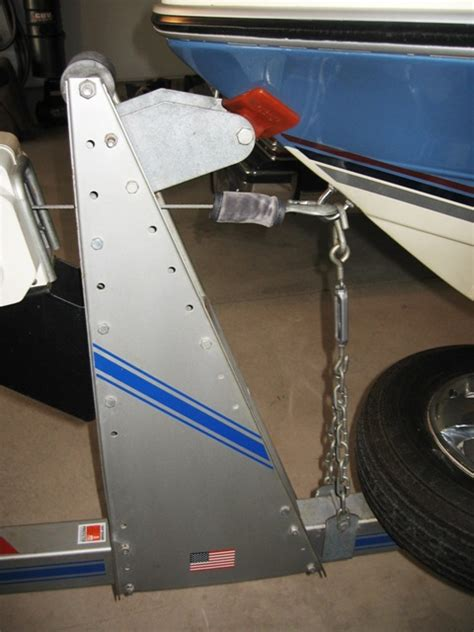 boat transom location on trailer transom tie down trailer rollers the hull truth