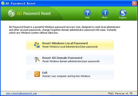 password reset tool intuit quicken password reset softwares free download freewares