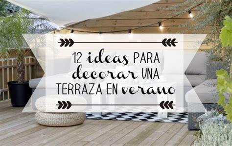 como decorar textos ideas para decorar una terraza en verano