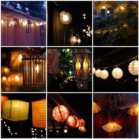 Outdoor Summer String Lights Dreamy Lights Outdoor String Lighting This Summer And Things