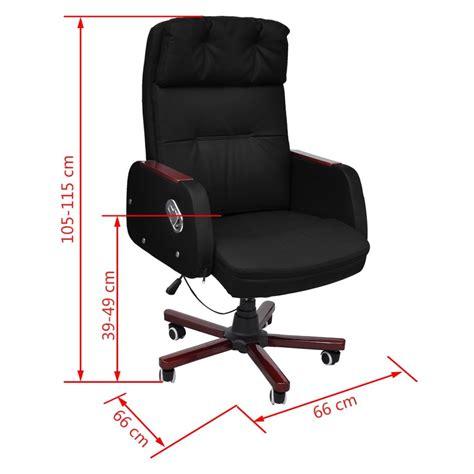 sedia ufficio reclinabile sedia da ufficio pelle artificiale reclinabile nera di
