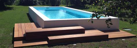 piscine per terrazzo piscine e minipiscine da terrazzo giardino interno ed