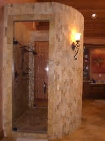 Rustic Closet Doors by Image Detail For Walk Through Shower Master Bath Ideas