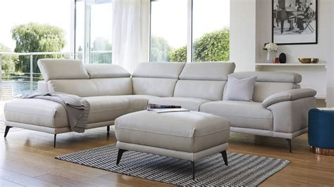 siena corner sofa siena left hand modern leather corner sofa living room uk
