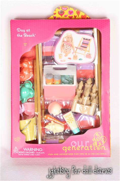 Set Og new accessory sets from our generation doll diaries