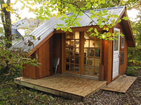 build a mini house in the backyard shed tiny house swoon