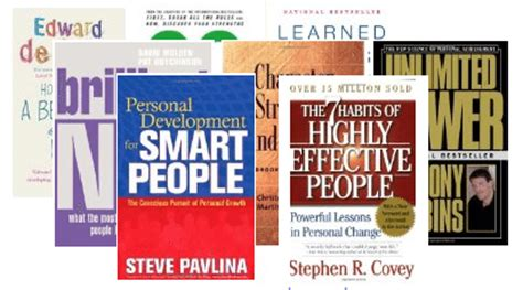 the personal of books personal development books