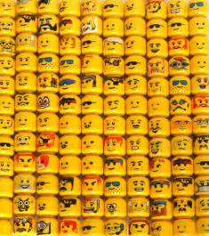 lego heads brick yourself make yourself in lego