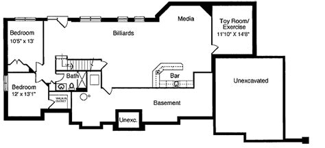 basement  bar billiards  theater st