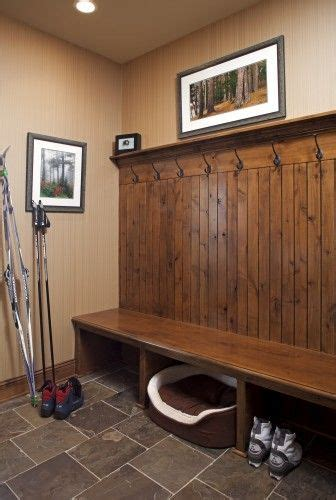 laundry room bench best 25 hunting lodge interiors ideas on pinterest