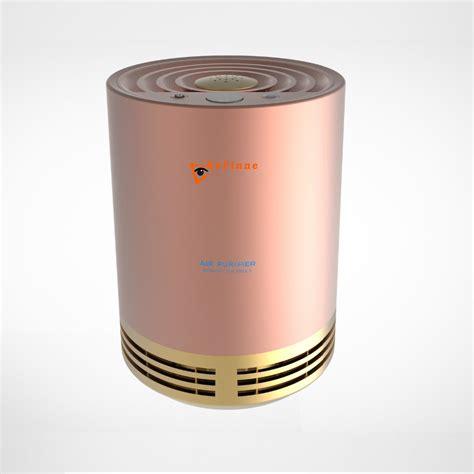 refinne large room air purifier rose gold refinne