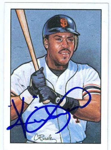 Baseball Sweepstakes - autographed kevin mitchell cards authentic mlb signed kevin mitchell