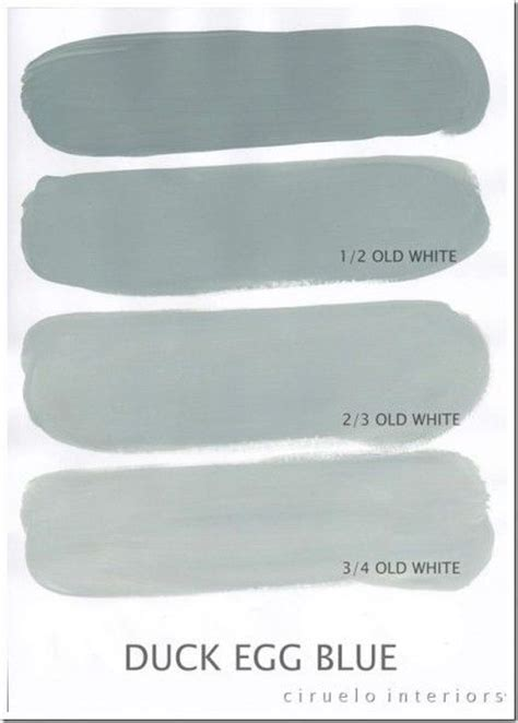 duck egg blue color mix furniture painting inspiration