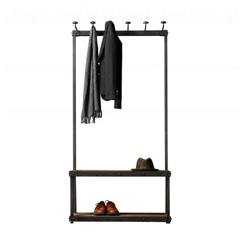 metal entryway bench with coat rack cool metal entryway storage bench with coat rack with