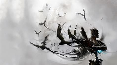 Bird Figures by Wallpaper S Collection 171 Raven Wallpapers 187
