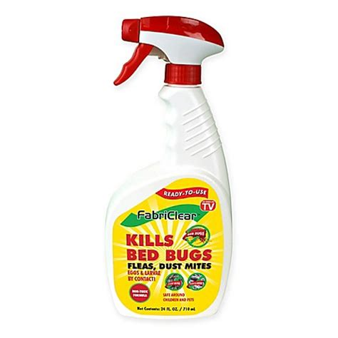 bed bug killer that works fabriclear 24 oz bed bug spray bed bath beyond