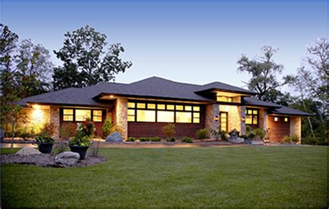 contemporary prairie style house plans contemporary prairie style home prairie style home