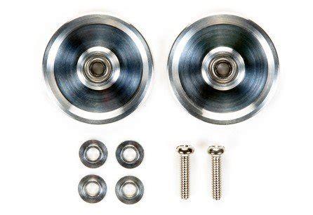 Rep Tamiya 15464 Roller 19mm Alum Race Roller Dish Silver tamiya 15464 jr hg alum race rollers 19mm