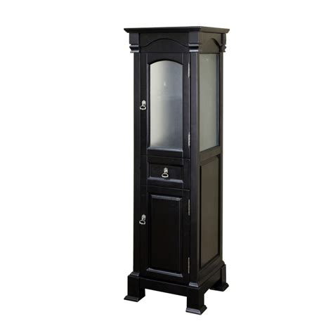 bathroom linen cabinet in espresso finish uvbh205065toweres