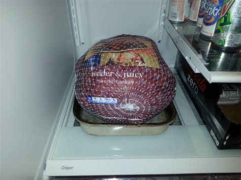 Frozen Turkey Shelf by Time To Thaw The Turkey Answerline