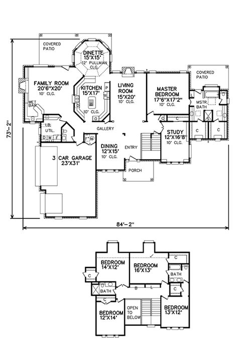 perry home floor plans perry house plans floor plan 5459 c 2017