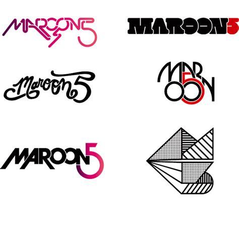 maroon 5 typography maroon 5 matt lehman studio