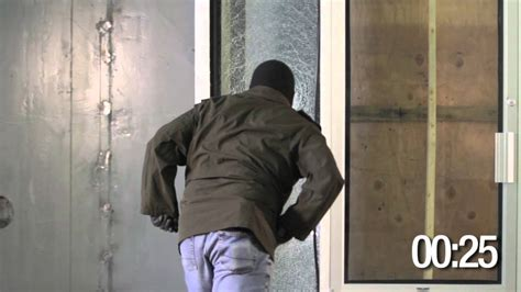 3m Glass Door by 3m Safety Security Ultra S600 Demonstration