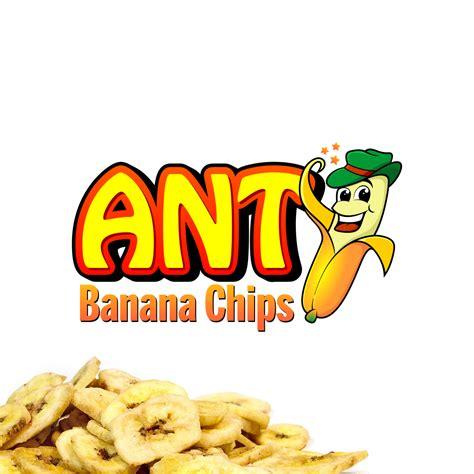 Lamak Banana Chips Keripik Pisangkripik sribu logo design logo desain untuk keripik pisang quot ant