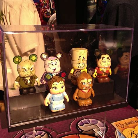 Tsum Tsum Daster previews of the the beast vinylmation series plus