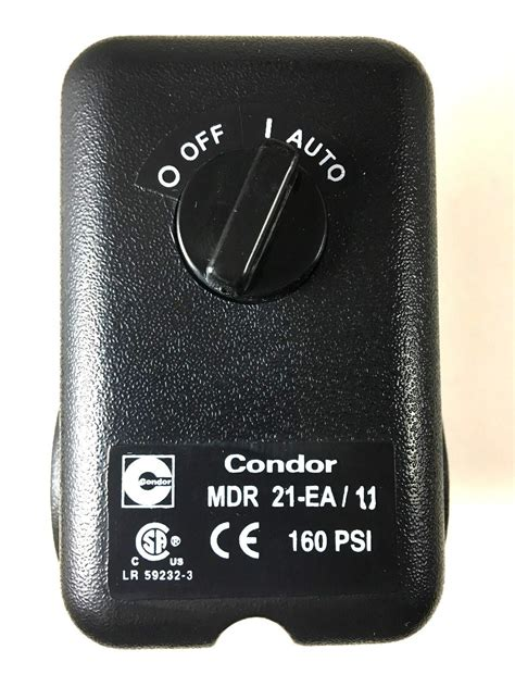 mdr ea condor pressure switch  port  unloader