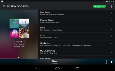 spotify android spotify for android free downloads freeware shareware software trials