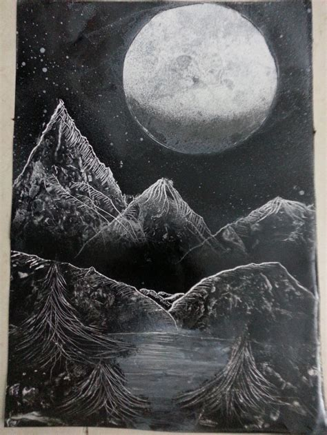 black and white paintings spray paint black and white nature by
