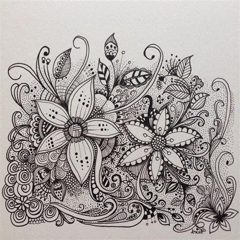 doodle of flower kc doodle flowers doodle doodles