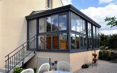 überdachte terrasse alu glas alu glass fabricant de v 233 randa et de menuiseries aluminium