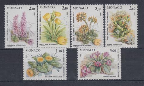 Pflanzen Aus 1985 by Monaco 1985 Satz Mi Nr 1683 1688 Seltene Pflanzen