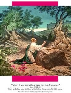 bible story pictures jesus in the garden of gethsemane