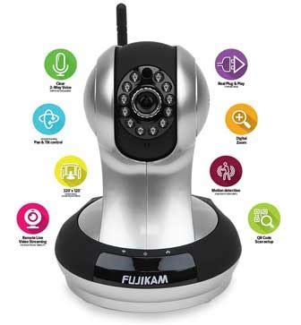 fujikam fi 361 wireless home security cameras and