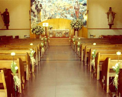 como decorar la iglesia para una boda cristiana decoraci 243 n de la iglesia para una boda imagui