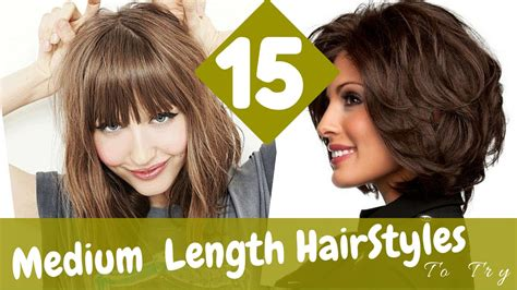 up to date hairstyles for women in their 30s 15 medium length hairstyles to try in 2015 youtube
