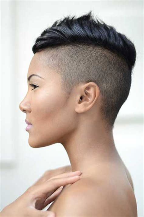 very short mohawk hairstyles for women shaved hairstyles beautiful hairstyles