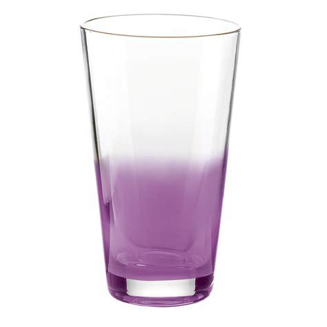 imagenes de vasos vintage vaso de vidrio mirage color violeta de guzzini 189 00