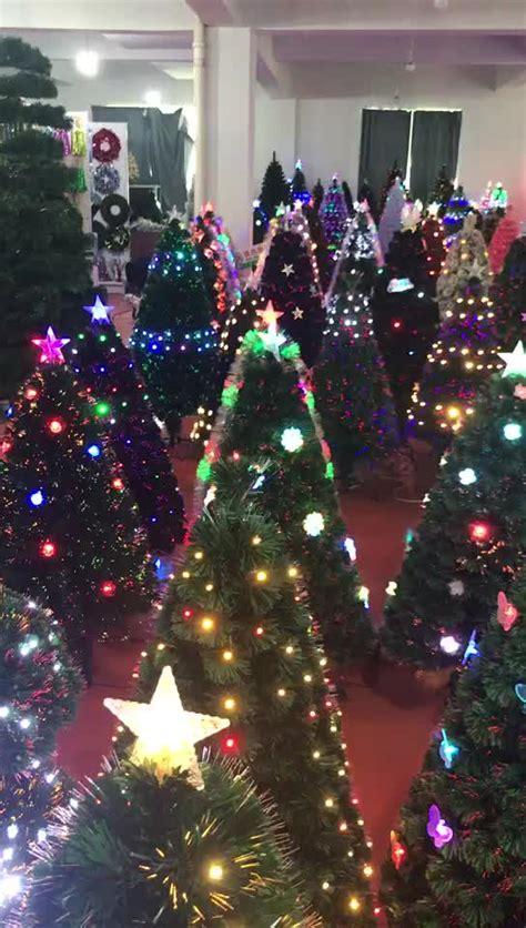 2017 new arrival festival 2ft 3ft 4ft ornament fiber optic